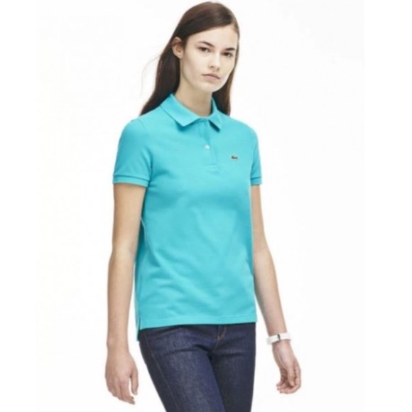 444d1594e2add Lacoste Tops - Lacoste Womens Classic Short Sleeve Polo Size 46